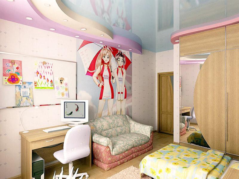 Детская комната для девочки: фото и варианты планировки ремо.