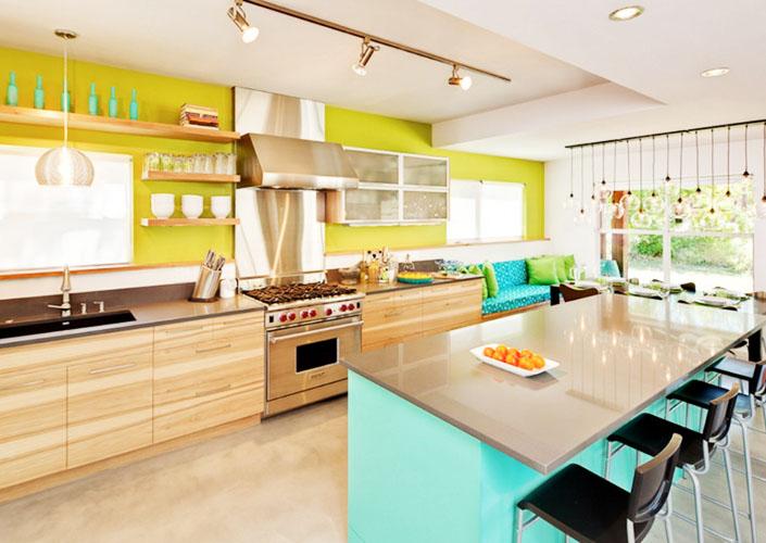 Расцветки кухни дизайн