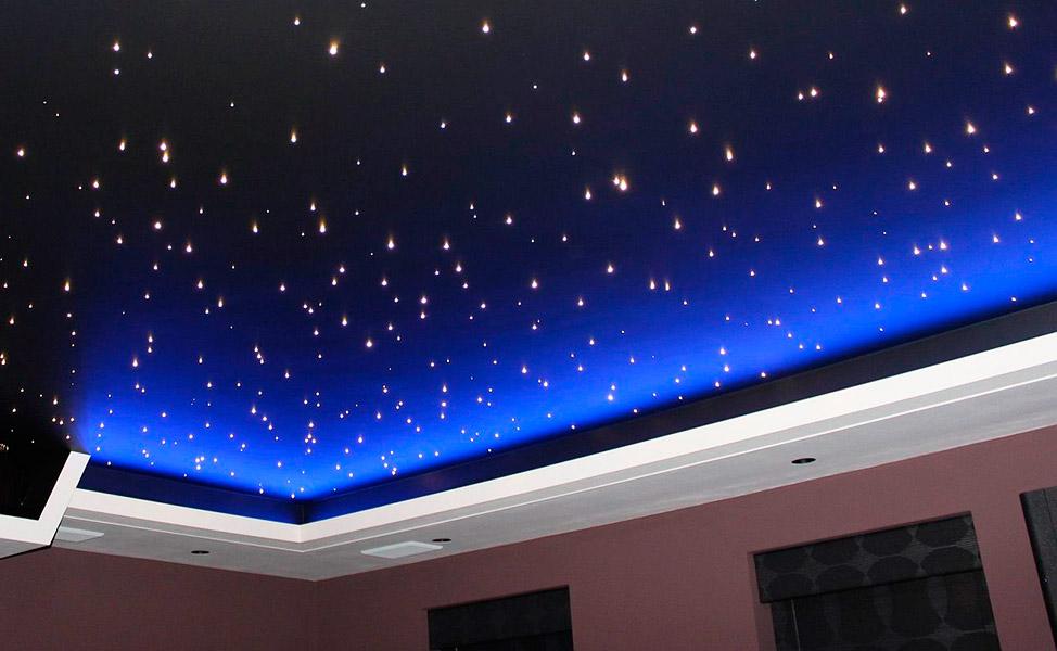 Натяжные потолки с рисунком От 320 рублей за кв. метр